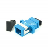 SC/UPC ADAPTER SX-SM (Blue With Flange)