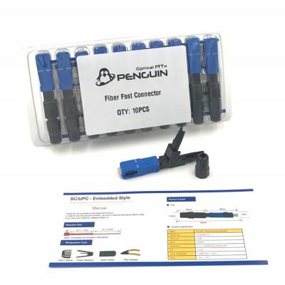 FIBER FAST CONNECTO SC/UPC รุ่น 601 (แพ็ค 10 หัว)
