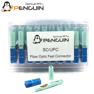 SC/UPC Fiber Optic Fast Connector (Pack 10 PC) Standard