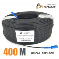 PENGUIN ASSEMBLY CABLE FTTH 1 CORE SC/UPC G.657A-LSZH 400M [OUTDOOR]