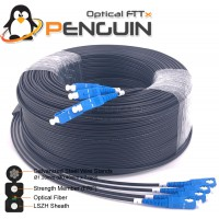 OUTDOOR DROP CABLE 4 CORE G.657A1/FRP-LSZH - 200M