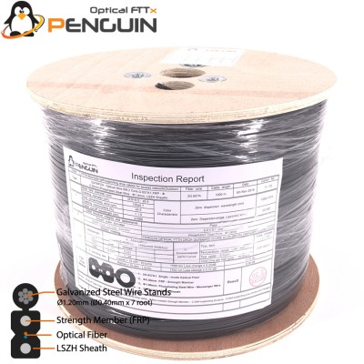 INDOOR/OUTDOOR FTTH DROP CABLE 2 CORE - 1000M