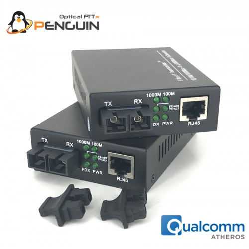 Gigabit Media Converter SM / SC Duplex 1310nm - 20KM