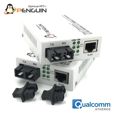 PENGUIN Gigabit Media Converter SM / SC Duplex 1310nm - 20KM
