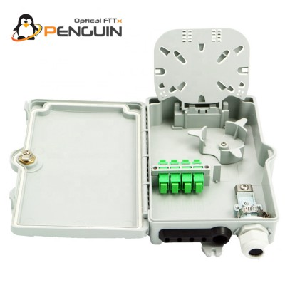 4 Core Wall Mounted Fiber Termination Box