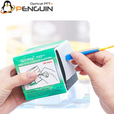 FIBER OPTIC END FACE CLEANING WIPE PAPER
