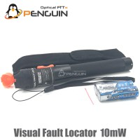 ปากกายิงแสงไฟเบอร์ออฟติก Visual Fault Locator ขนาด 10mW (ฺBlack)