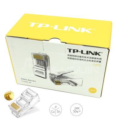TP-LINK CAT6 CRYSTAL RJ45 กล่อง 100 ชิ้น