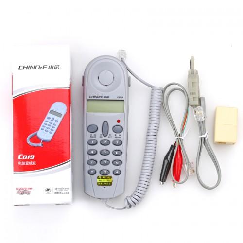 เครื่องเช็คสัญญาณโทรศัพท์ CHINO-E C019